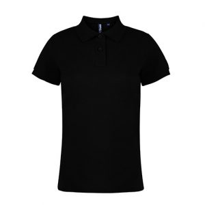 Black-Men's-Polo