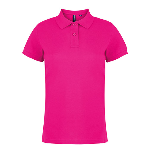 Hot Pink Women's Polo