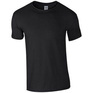 Black Softstyle T-shirt