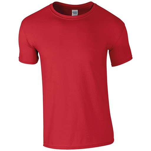 Red Softstyle T-shirt