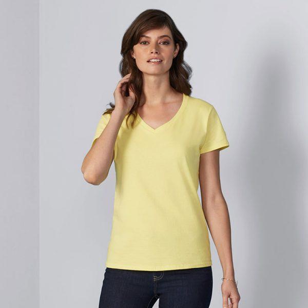 Womens Premium V-Neck T-Shirt