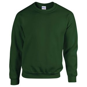 Forest Green Crew Neck Sweatshirt