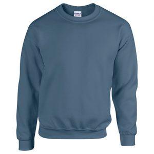 Indigo Crew Neck Sweatshirt