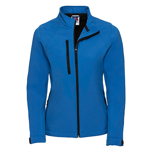 Azure Blue Softshell Jacket