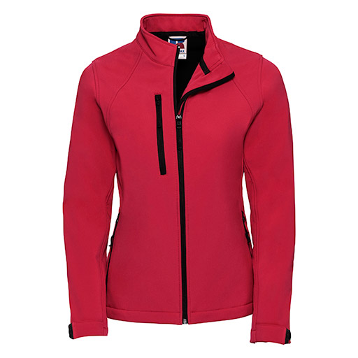 Classic Red Softshell Jacket