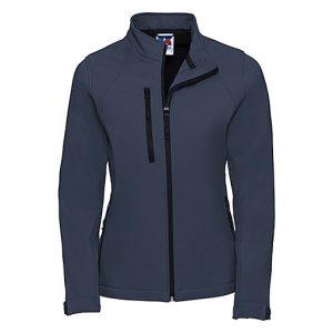 French Navy Softshell Jacket