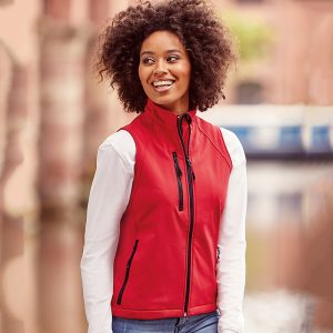 Womens Softshell Gilet