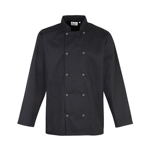 Black Long Sleeve Chef Jacket