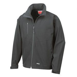 Black Baselayer Softshell Jacket