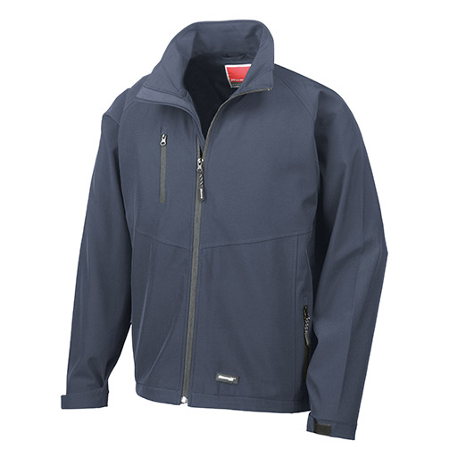 Navy Baselayer Softshell Jacket