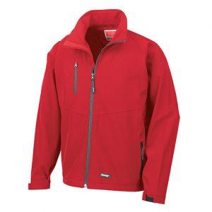 Red Baselayer Softshell Jacket