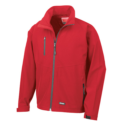 Red Baselayer Softshell Jacket