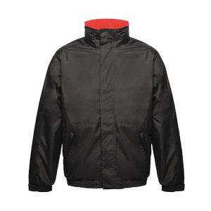Black Red Dover Jacket