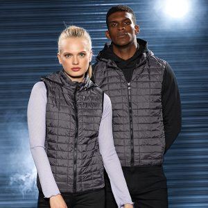 Womens Honeycomb Hooded Gilet