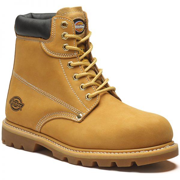 honey nubuck cleveland safety boot