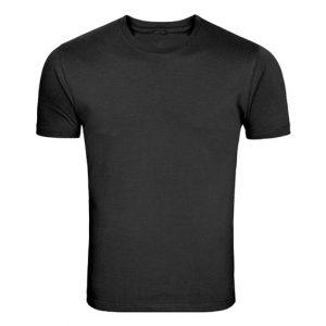 black softstyle t shirt