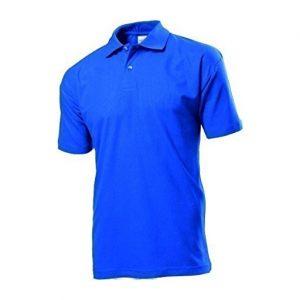 bright royal polo shirt placeholder