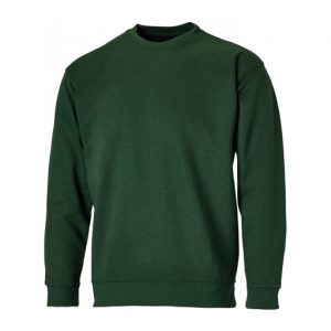 green crew neck sweatshirts