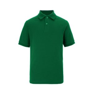 green polo shirt placeholder