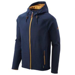 navy softshell jacket