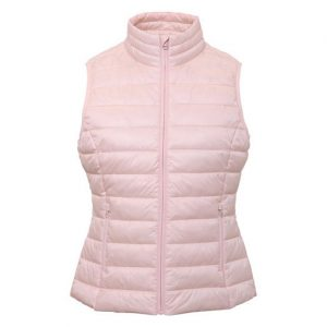 pink tribe padded gilets