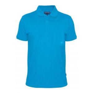sky blue classic polo shirt