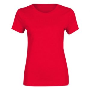 softstyle red womens t-shirt