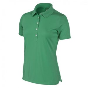 womens green polo shirt placeholder