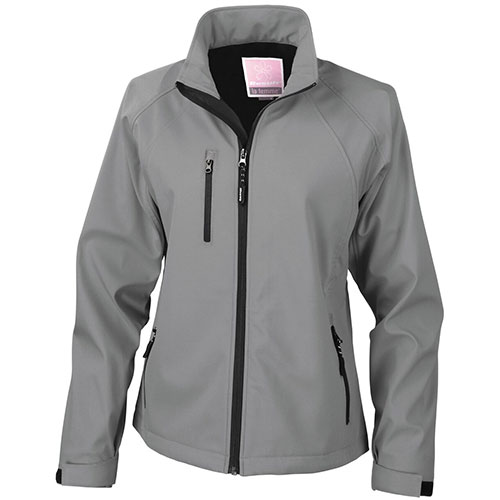 womens softshell baselayer-silver-grey