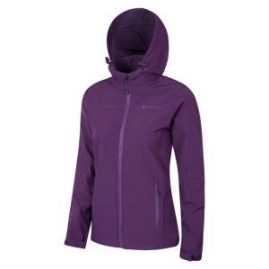 womens purple softshell jacket