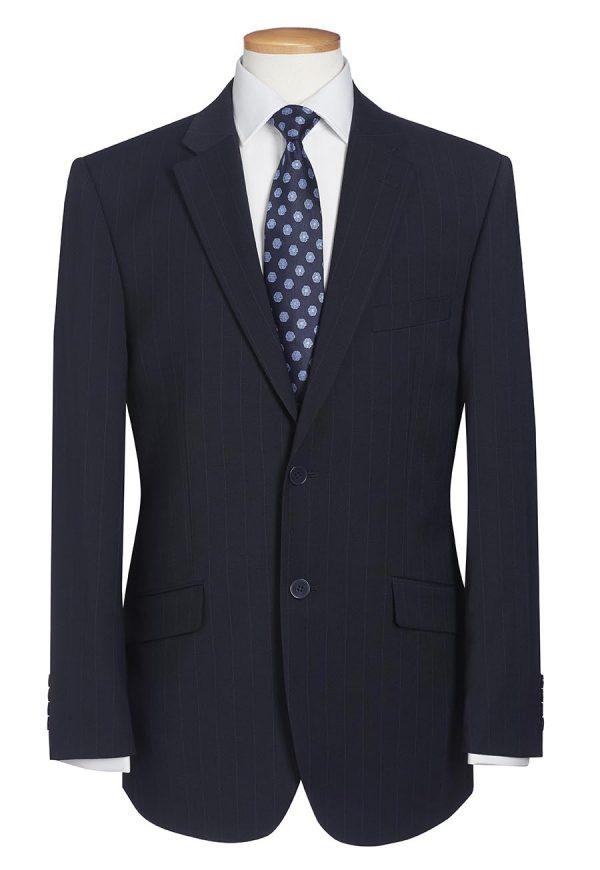 avalino jacket mannequin navy pinstripe