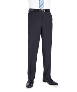 Avalino Flat Front Trouser Charcoal
