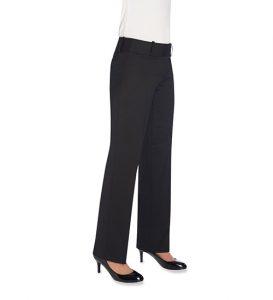 Dorchester Parallel Leg Trouser Black