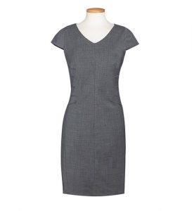Marino Dress Light Grey