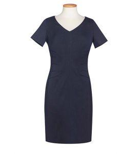 Portia Dress Navy