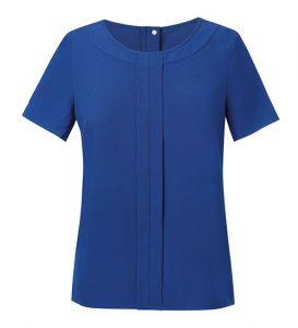 Verona Womens Blouse Royal Blue