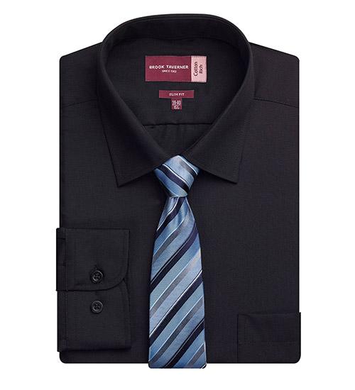 alba shirt black