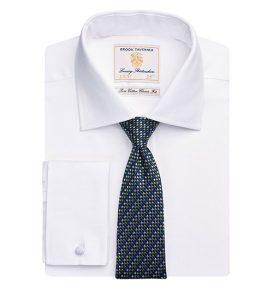 andora shirt white herring