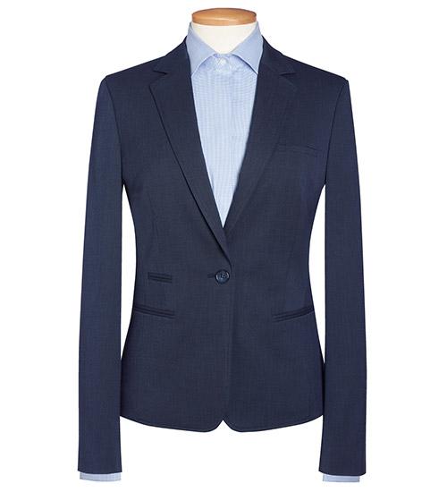 ariel jacket navy dot