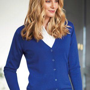 augusta cardigan royal blue