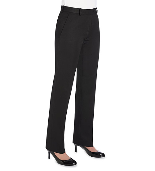 aura trousers black