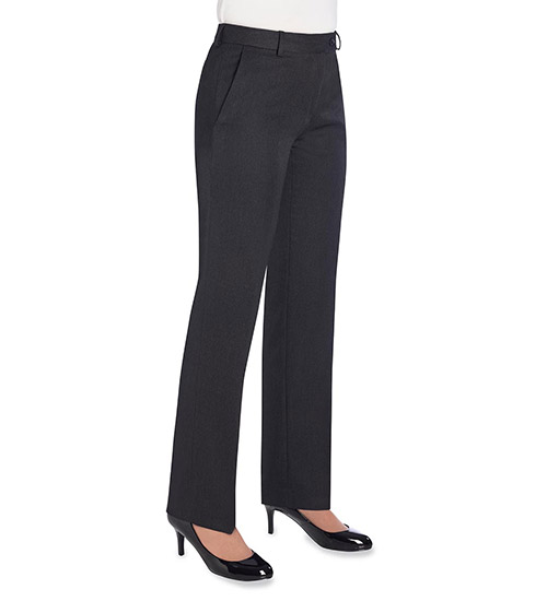 aura trousers charcoal