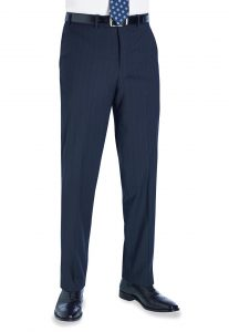 avalino trouser navy pinstripe