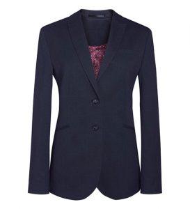 cordelia navy pindot jacket