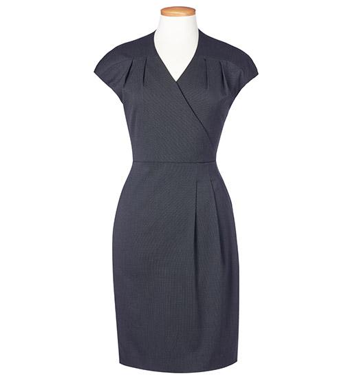cressida dress charcoal