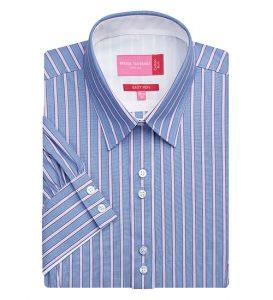 liguria sky blue magenta stripe