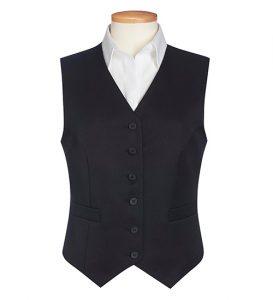 omega waistcoat black