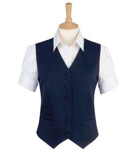 omega waistcoat navy