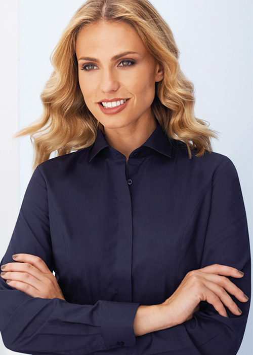 parma blouse navy product image