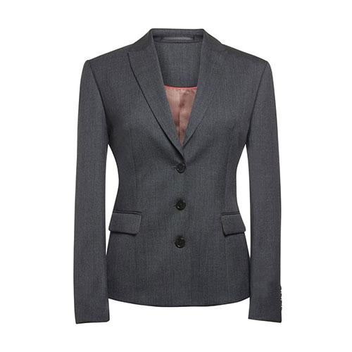 ritz ladies jacket mid grey